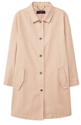 Violeta BY MANGO Buttons cotton trench