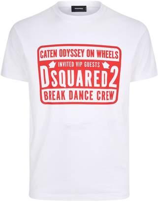 at Harrods · DSQUARED2 Break Dance Crew Motif T-Shirt 3cc736180c