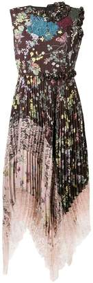 Antonio Marras floral print flared dress