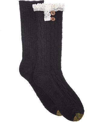Gold Toe Women 2-Pk. Cable Buttons Boot Socks