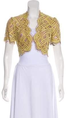Milly Lace Short Sleeve Shrug