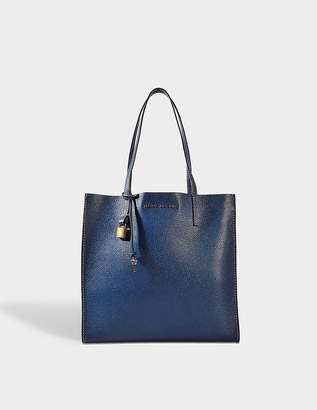Marc Jacobs The Grind Shopper Bag in Blue Sea Cow Leather