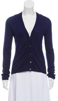 Miu Miu V-neck Knitted Cardigan