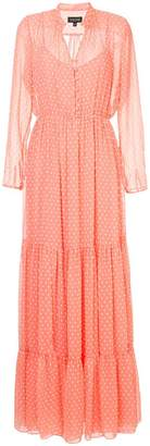 Saloni polka dot dress