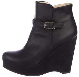 Stella McCartney Vegan Wedge Boots