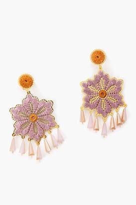 Mercedes Salazar Pink Tropics Earrings