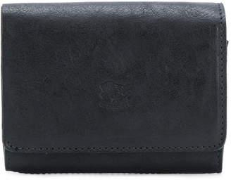 Il Bisonte embossed logo wallet