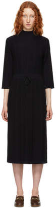 A.P.C. Navy Viviane Knit Dress