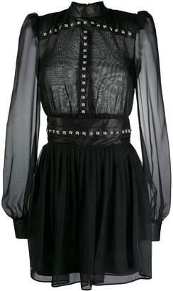 John Richmond sheer studded dress