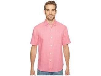 Tommy Bahama Sea Glass Breezer S/S Camp Shirt Men's Clothing