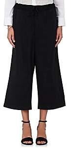 Comme des Garcons Women's Cotton Wide-Leg Crop Pants - Black