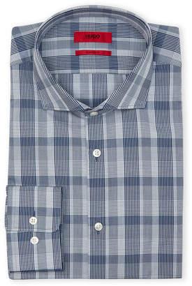 HUGO BOSS Glen Check Sharp Fit Sport Shirt