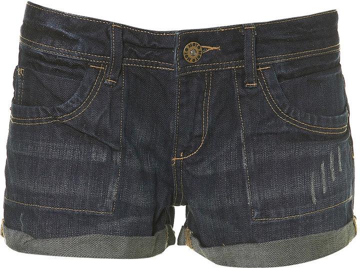 Denim Pocket Shorts