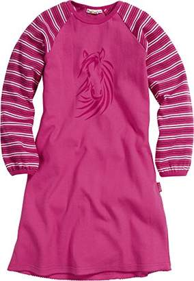 Playshoes Girl's Horses Nighties,(Manufacturer Size:3-/104 cm)
