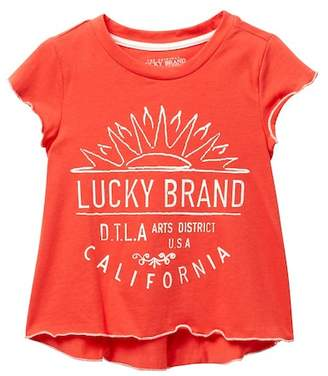 Lucky Brand Violet Tee (Little Girls)
