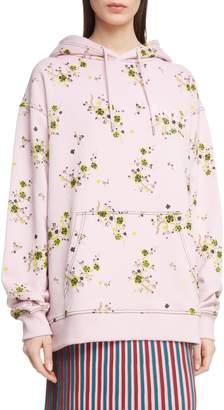 Kenzo Oversize Floral Hoodie