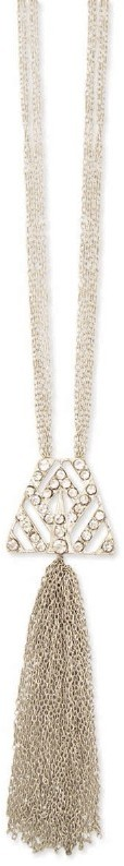 Z Designs Art Deco Tassel Necklace