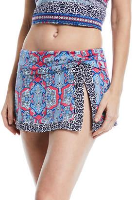Tommy Bahama Riviera Tiles Hipster Swim Skirt