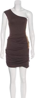VPL One-Shoulder Mini Dress