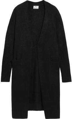 Acne Studios Raya Knitted Cardigan - Black