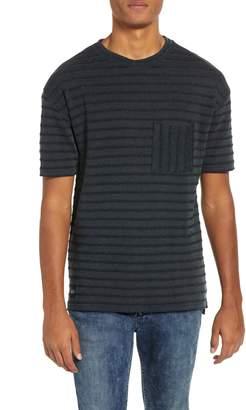 NATIVE YOUTH Jacquard Stripe Pocket T-Shirt