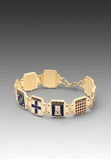Wildfox Couture Coat of Arms Bracelet
