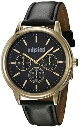 Unlisted Watches Men's 'Sport' Quartz Metal Dress Watch