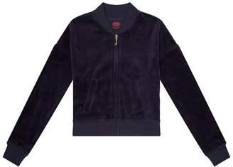 Juicy Couture Crowned Laurel Westwood Velour Sweatshirt