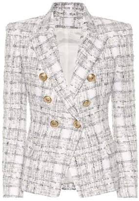 Balmain Exclusive to Mytheresa – Double-breasted tweed blazer