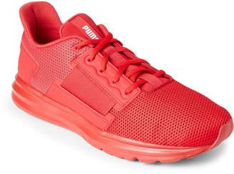 Puma Ribbon Red Enzo Street Low-Top Sneakers
