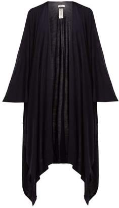 The Row Hern Wool Blend Cape - Womens - Navy