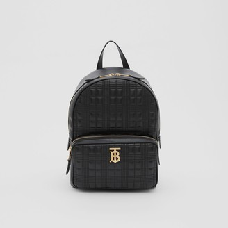 Burberry Quilted Check Lambskin Backpack