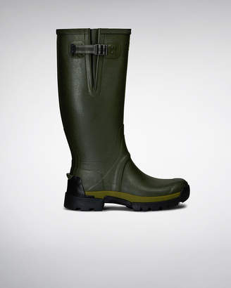 Hunter The New Men's Balmoral Bamboo Carbon Rain Boots