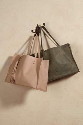 Soft Surroundings Pampa Leather Tote