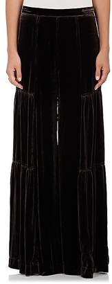 Warm Women's Cake Velvet Wide-Leg Pants