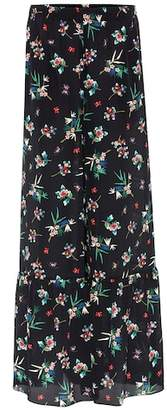 RED Valentino Silk wide-leg trousers