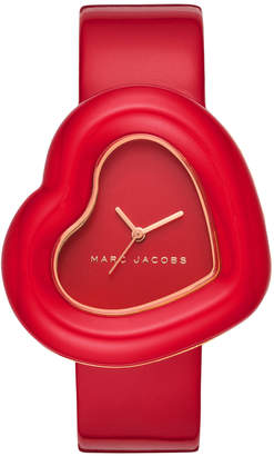 Marc Jacobs The Heart Red Watch MJ1614