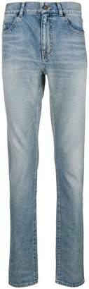 Saint Laurent acid wash jeans