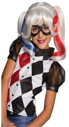 BuySeasons Dc Superhero Girls: Harley Quinn Girls Wig