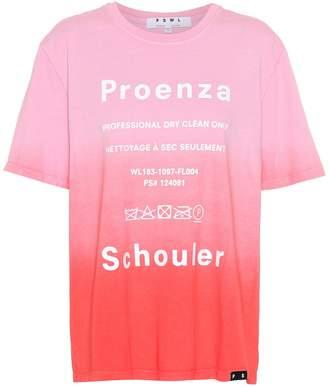 Proenza Schouler Printed cotton T-shirt