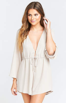 a070c8a7ae Show Me Your Mumu Roxy Romper ~ Show Me The Ring Crisp