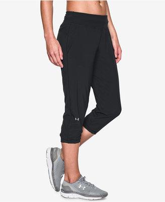 Under Armour HeatGear Sunblock Upf 50+ Capri Pants $49.99 thestylecure.com