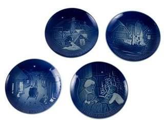 Royal Copenhagen 4-Piece Christmas Plates 1976-1979