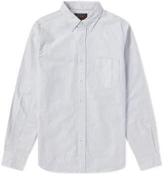 Beams Button Down Candy Stripe Shirt