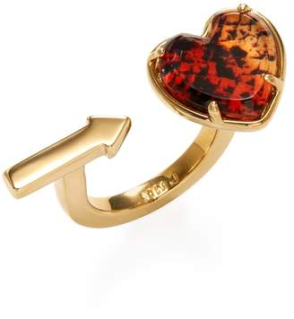 Marc by Marc Jacobs Jewelry Women's Pointer Heart Trend Ring