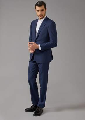 Giorgio Armani Soft Line Pinhead Fabric Suit
