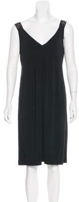 Philosophy di Alberta Ferretti Embellished Draped Dress