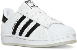 adidas Boys' Superstar Casual Sneakers from Finish Line $69.99 thestylecure.com