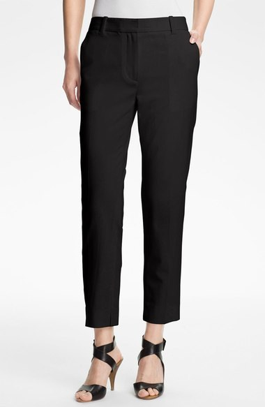 3.1 Phillip Lim Crop Stretch Wool Trousers