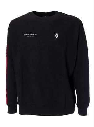 Marcelo Burlon County of Milan Wings Barcode Sweatshirt